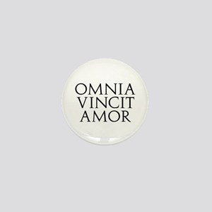 Omnia Vincit Amor Mini Button