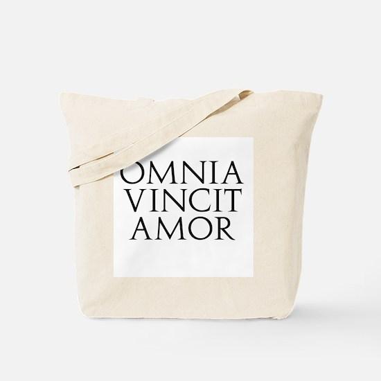 Omnia Vincit Amor Tote Bag