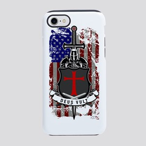 AMERICAN KNIGHT GOD WILLS IT iPhone 7 Tough Case