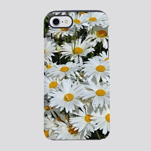 Pretty white daisy garden iPhone 7 Tough Case