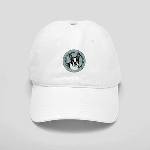 boston terrier addict Cap