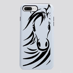 Black Horse  iPhone 7 Plus Tough Case