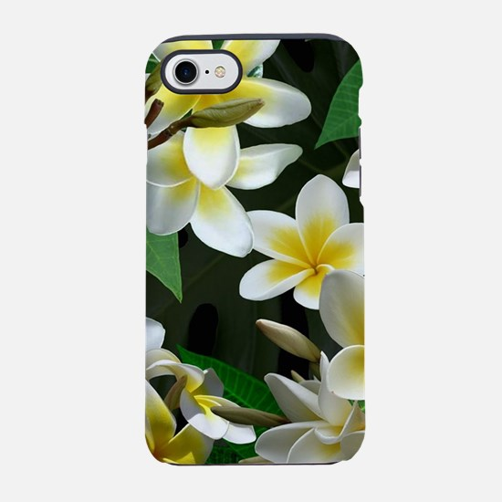 Plumeria Flowers iPhone 7 Tough Case