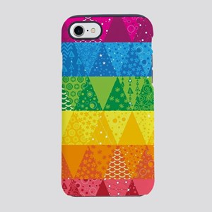Rainbow Triangles iPhone 7 Tough Case