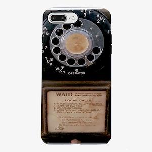 Vintage Payphone iPhone 7 Plus Tough Case