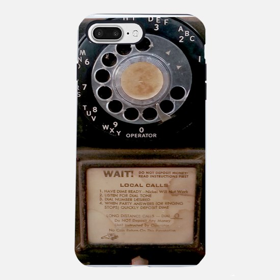 Vintage Payphone iPhone 7 Plus Tough Case