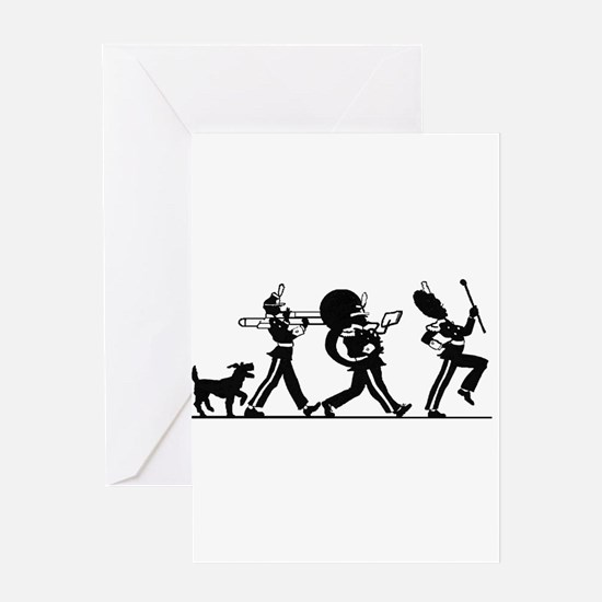 76 Trombones Greeting Card