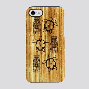 Honu Turtles And Tiki Mask iPhone 7 Tough Case