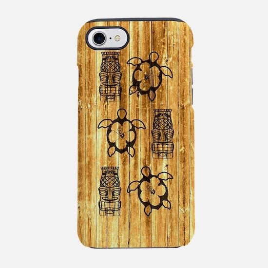 Honu Turtles And Tiki Mask iPhone 7 Tough Case