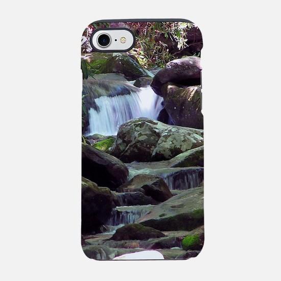 Great Smoky Mountain Stream iPhone 7 Tough Case
