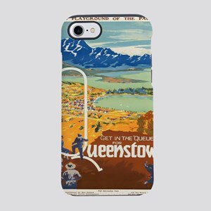 Vintage poster - New Zealand iPhone 7 Tough Case