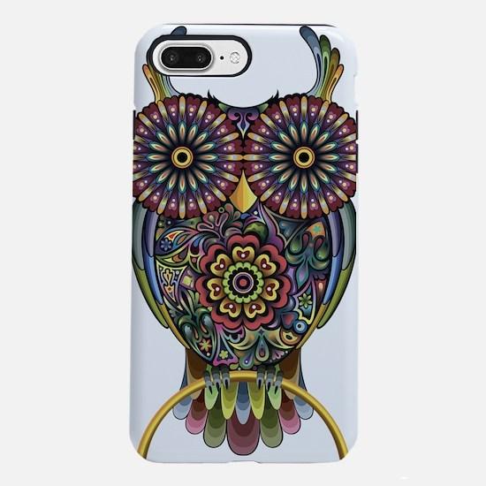 Vibrant Owl iPhone 7 Plus Tough Case