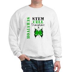 StemCellSurvivorButterfly Sweatshirt