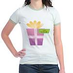 Lolo's Favorite Gift Jr. Ringer T-Shirt