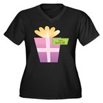 Lolo's Favorite Gift Women's Plus Size V-Neck Dark