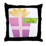 Lolo's Favorite Gift Throw Pillow