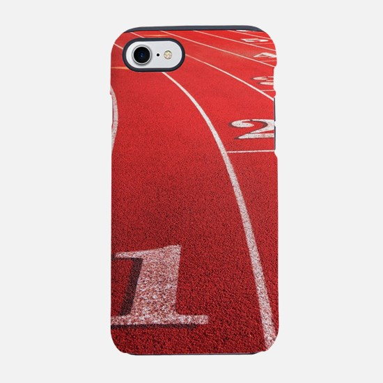 Track lanes iPhone 7 Tough Case