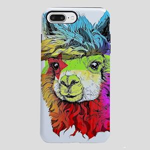 Color Me Alpaca iPhone 7 Plus Tough Case