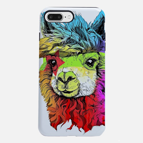 Color Me Alpaca iPhone 7 Plus Tough Case
