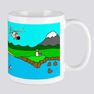 USCG Helo Mug