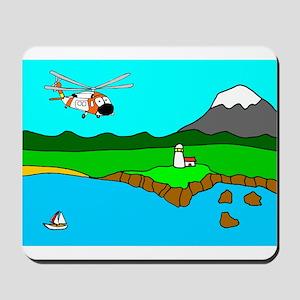 USCG Helo Mousepad