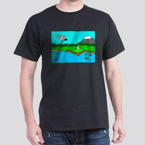 USCG Helo Dark T-Shirt