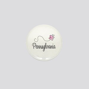 Pretty Pennsylvania Mini Button