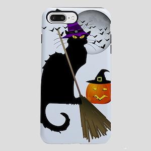 Le Chat Noir - Halloween  iPhone 7 Plus Tough Case