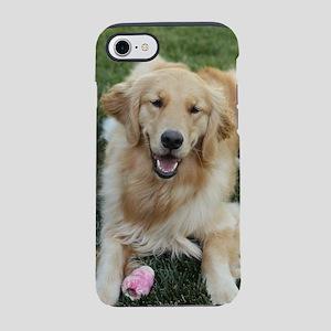 Nala the golden retriever dog  iPhone 7 Tough Case