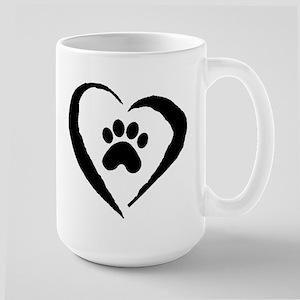 Heart Large Mug