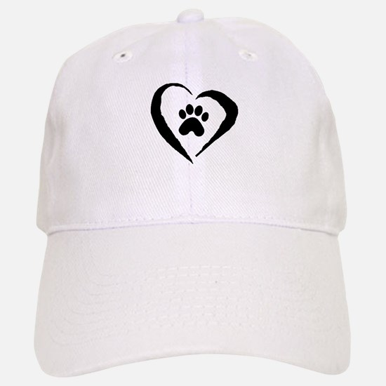 Heart Baseball Baseball Cap
