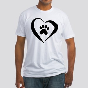 Heart Fitted T-Shirt