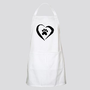 Heart BBQ Apron