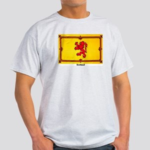 Scotland Lion Rampant Ash Grey T-Shirt