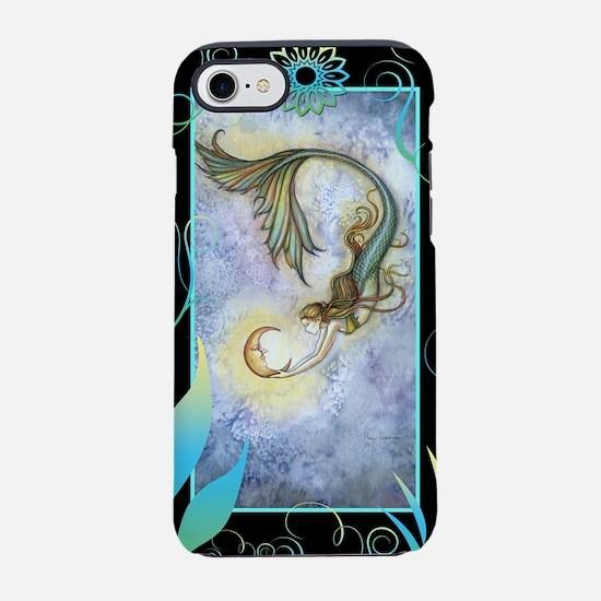 Deep Sea Moon Mermaid Fantasy  iPhone 7 Tough Case