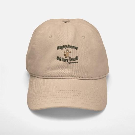 Naughty Beavers Get More Wood Baseball Baseball Cap