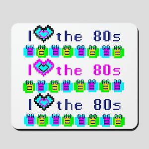 I Heart the 80s Mousepad