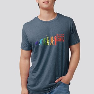 Crossword Puzzle Mens Tri-blend T-Shirt
