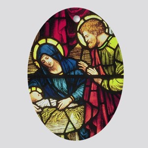 Nativity by Powells Keepsake (Oval)