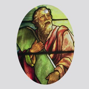 Moses Oval Ornament