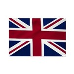 Union Jack Flag Rectangle Magnet (100 pack)