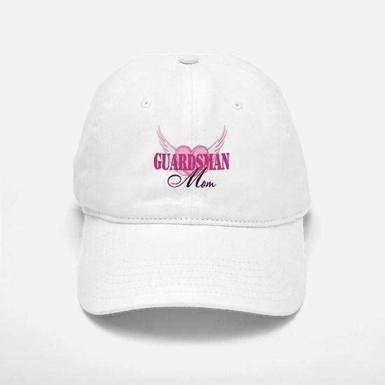 Guardsman Mom Wings Baseball Baseball Cap