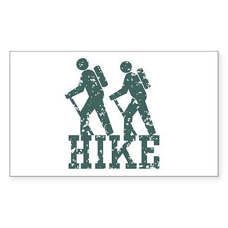 Hike Rectangle Sticker
