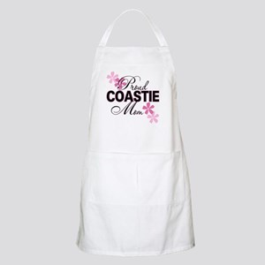 Proud Coastie Mom BBQ Apron