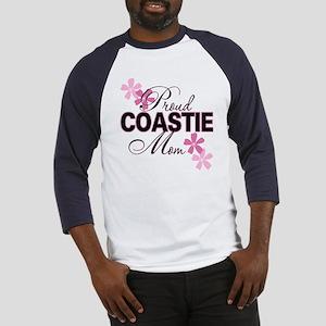 Proud Coastie Mom Baseball Jersey