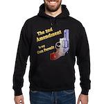 2nd Amendment Gun Permit Hoodie (dark)