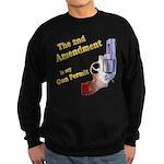 2nd Amendment Gun Permit Sweatshirt (dark)