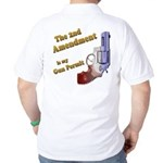 2nd Amendment Gun Permit Golf Shirt