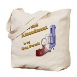 2nd Amendment Gun Permit Tote Bag