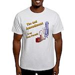 2nd Amendment Gun Permit Light T-Shirt